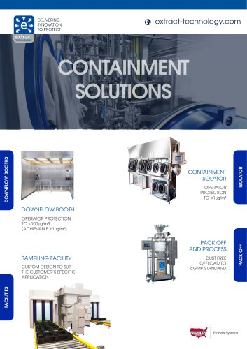 Containment Solutions Brochure