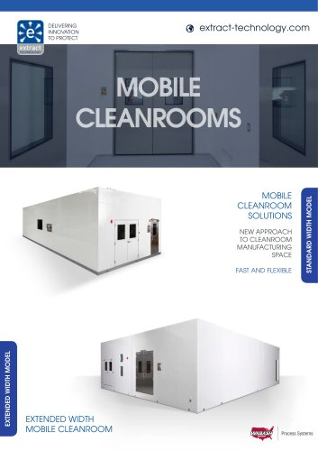 Mobile Cleanrooms Brochure
