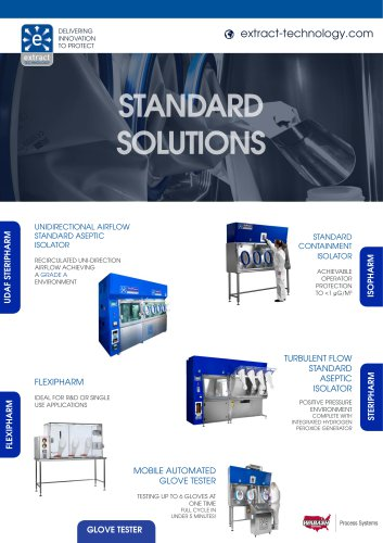 Standard Products Brochure