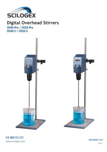 Digital Overhead Stirrers