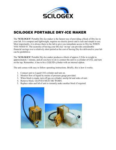 Dry Ice Maker Brochure