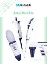 SCILOGEX Liquid Handling Products Catalog