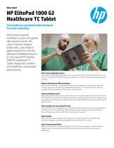 HP ElitePad 1000 G2 Healthcare TC Tablet