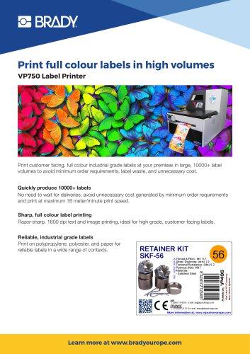 VP750 Label Printer