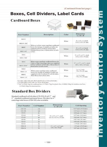 Boxes Catalog