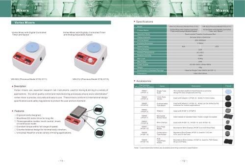 Digital Vortex Mixers