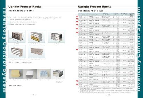 Upright Freezer Racks