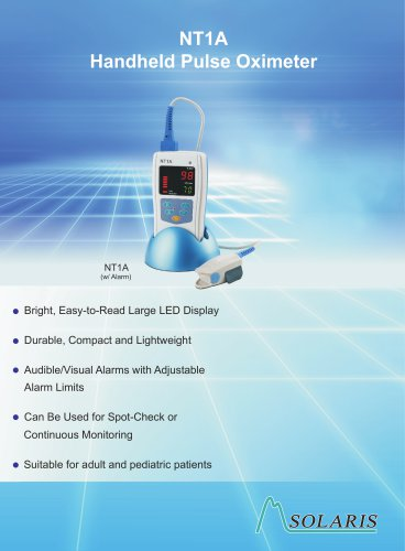 NT1 Series Handheld Pulse Oximeters