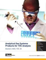 Analytical Gas Systems Products for TOC Analysis