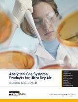 Analytical Gas Systems Products for Ultra Dry Air