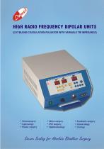 High Radio Frequency Bipolar Units