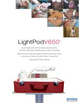vascular lesions treatment laser LightPOd V650