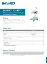 BriteMED pCART-D1 Documentation Cart