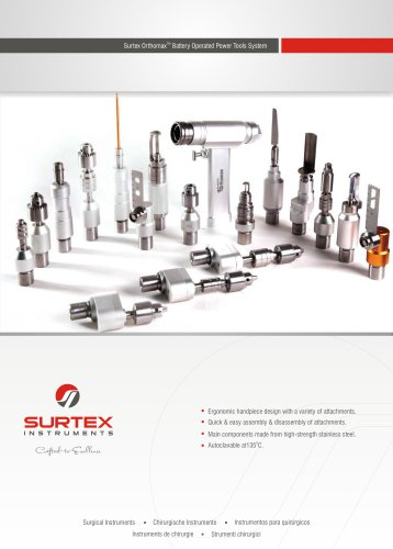 Battery Operated Drill & Accessories
