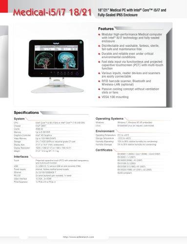 Medical-i5/i7 18/21