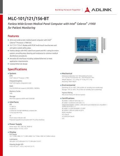 MLC-101/121/156-BT
