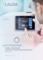 Overall brochure constant temperature equipment2020/2021
