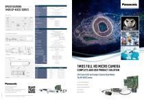 Panasonic complete 1MOS Micro Camera solution