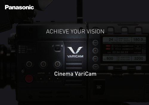 VariCam lineup