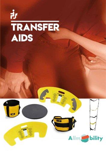 Line of transfer aids