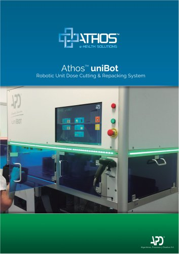 Athos™ UniBot - Robotic unit dose cutting & repacacking system