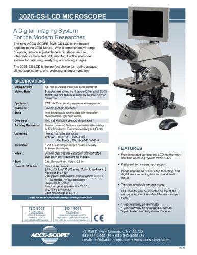 3025-CS-LCD MICROSCOPE