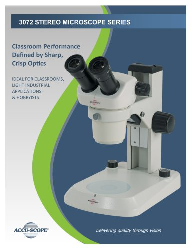3072 STEREO MICROSCOPE SERIES