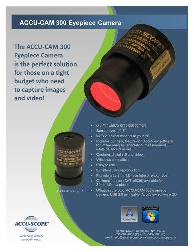 ACCU-CAM 300 Eyepiece Camera