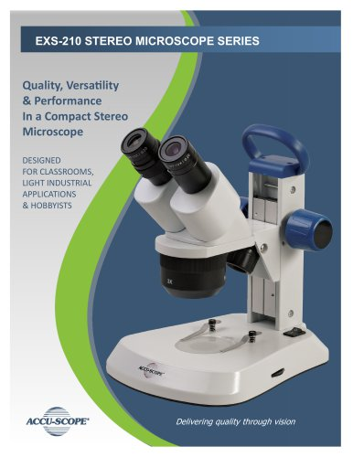 EXS-210 STEREO MICROSCOPE SERIES