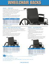Amara Wheelchair Backs - 2