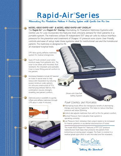 EO372 Rapid Air Mattress Overlay