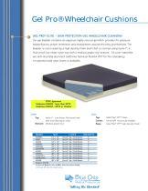 Gel Pro® Wheelchair Cushions - 1