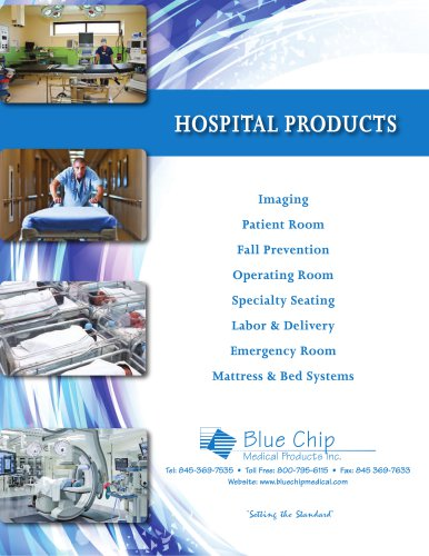 Hospital Products Brochure