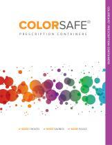 ColorSafe® Vials, Ovals & Ointment Jars
