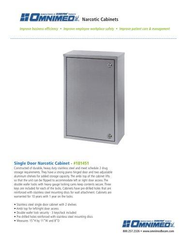 Single Door - 2 Shelves - #181451