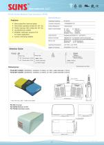 FS-82 Series Medical Foot Switches (IPX8)