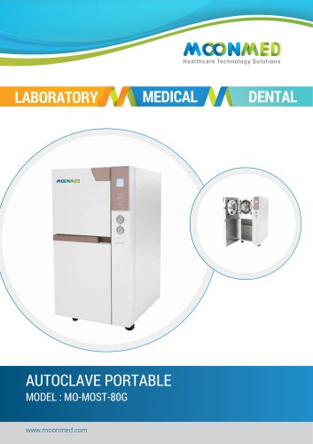 Autoclave Portable with storage cabinet
