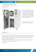 Autoclave Portable with storage cabinet - 2