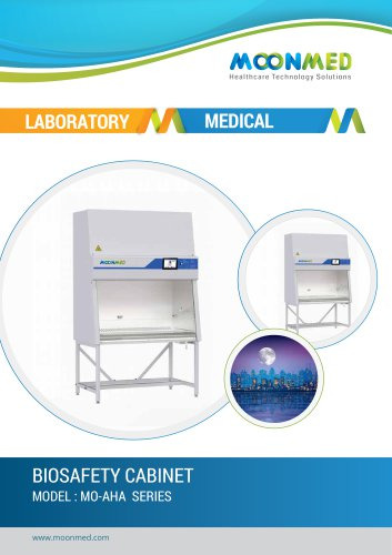 BIOSAFETY CABINET MODEL : MO-AHA SERIES