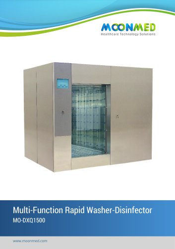 Cart and Trolley Washer Disinfector