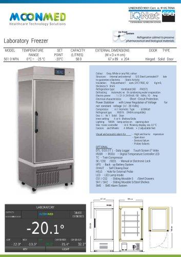 Freezer Laboratory LB 5010 NFN A