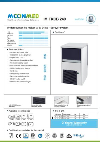 ICE MAKER IM-TKCB249
