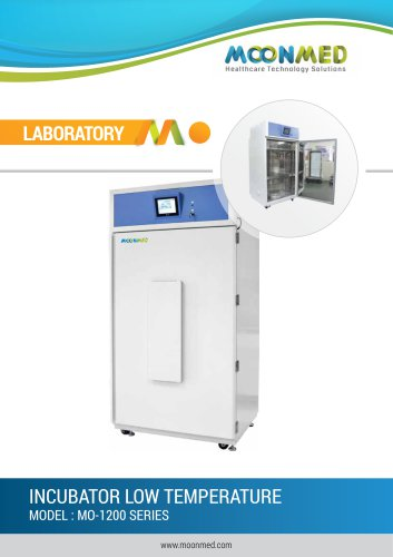 INCUBATOR LOW TEMPERATURE MODEL : MO-1200 SERIES
