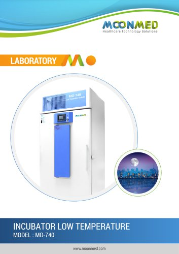 INCUBATOR LOW TEMPERATURE MODEL : MO-740