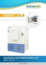 INCUBATOR LOWTEMPERATURE B.O.D MODEL : MO-7721 - 1