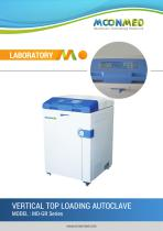 MO-GR Series VERTICAL TOP LOADING AUTOCLAVE - 1