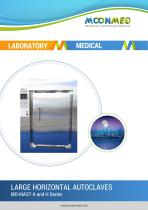 MO-MAST-A and H Series LARGE HORIZONTAL AUTOCLAVES - 1