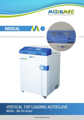 VERTICAL TOP LOADING AUTOCLAVE