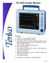 TK-1025 Cardiac Monitor