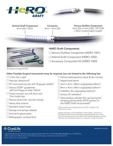 HeRO Graft Components
